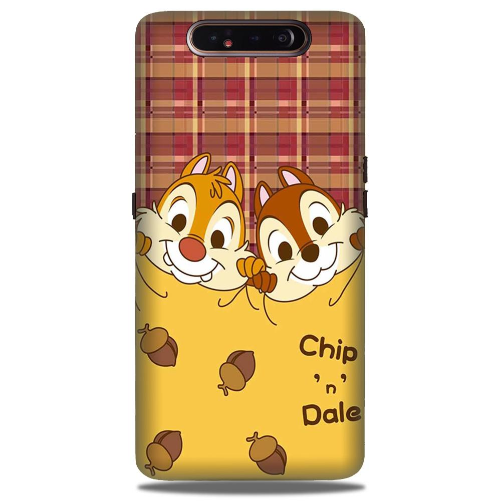 Chip n Dale Mobile Back Case for Samsung Galaxy A90  (Design - 342)