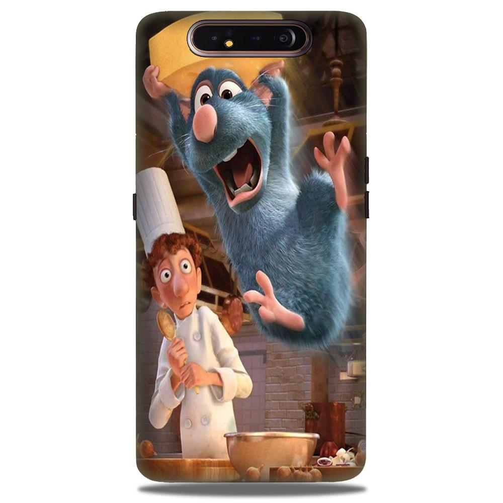 Ratatouille Mobile Back Case for Samsung Galaxy A90  (Design - 347)