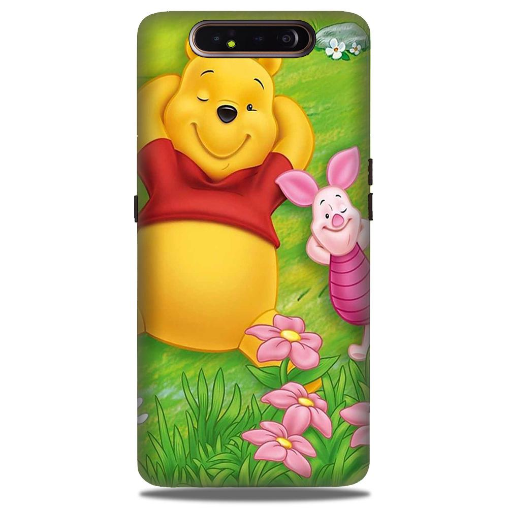 Winnie The Pooh Mobile Back Case for Samsung Galaxy A90  (Design - 348)