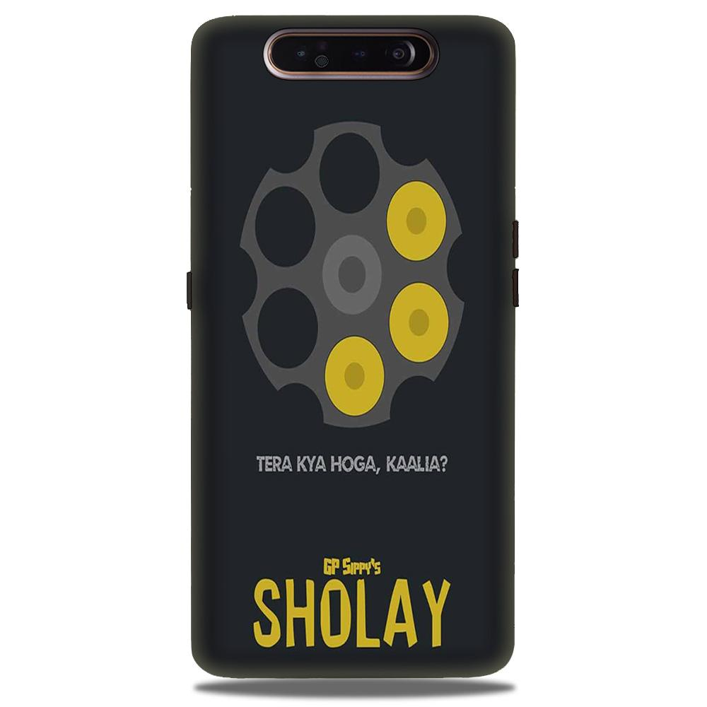 Sholay Mobile Back Case for Samsung Galaxy A90  (Design - 356)