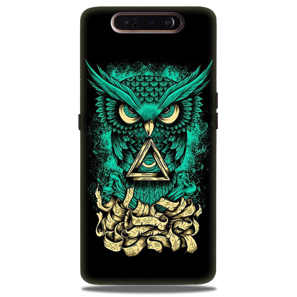 Owl Mobile Back Case for Samsung Galaxy A90  (Design - 358)