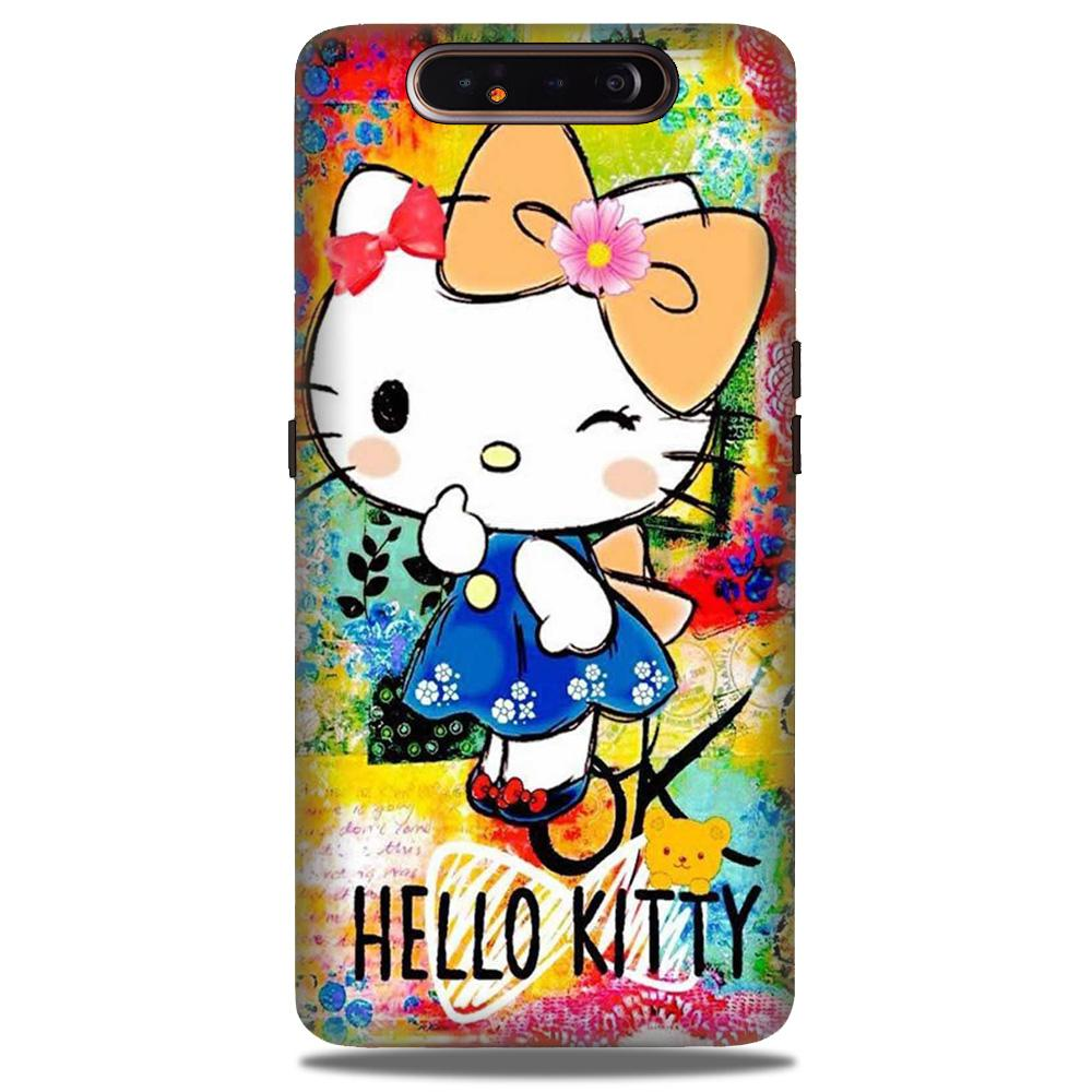 Hello Kitty Mobile Back Case for Samsung Galaxy A90  (Design - 362)