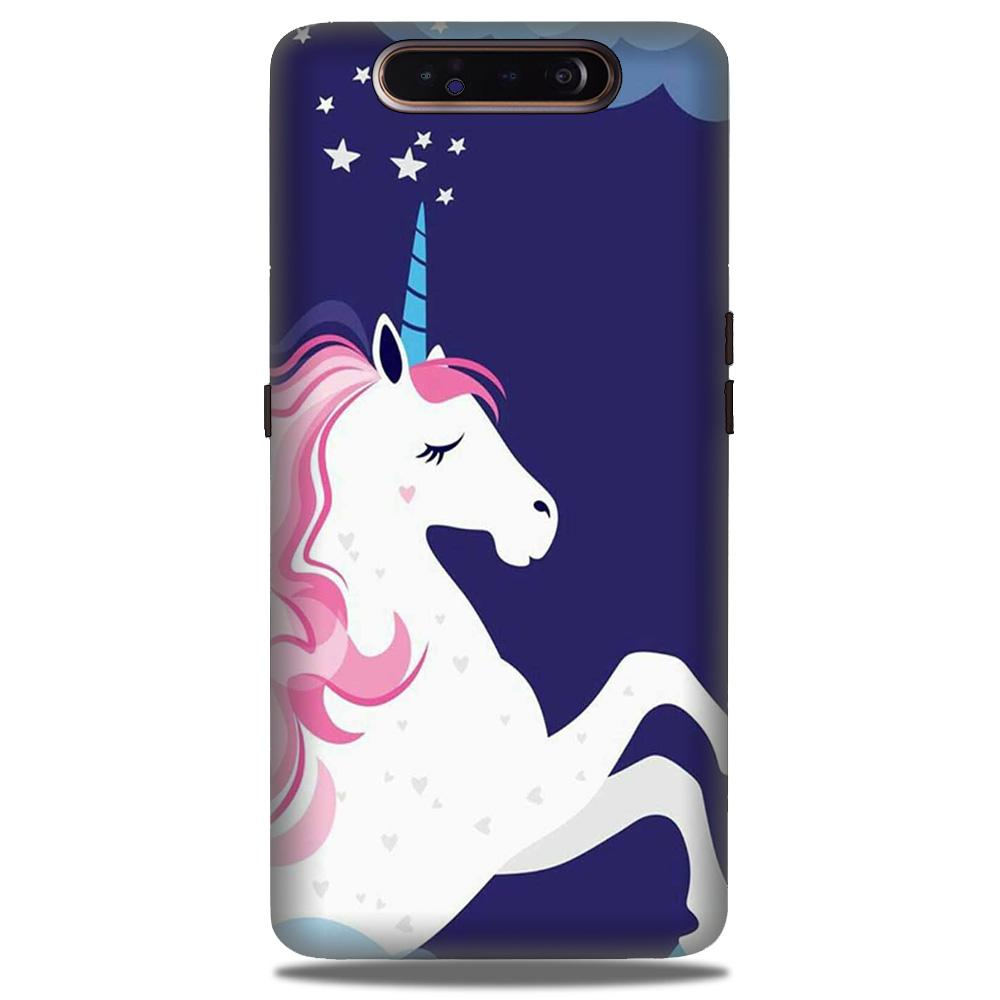 Unicorn Mobile Back Case for Samsung Galaxy A90  (Design - 365)