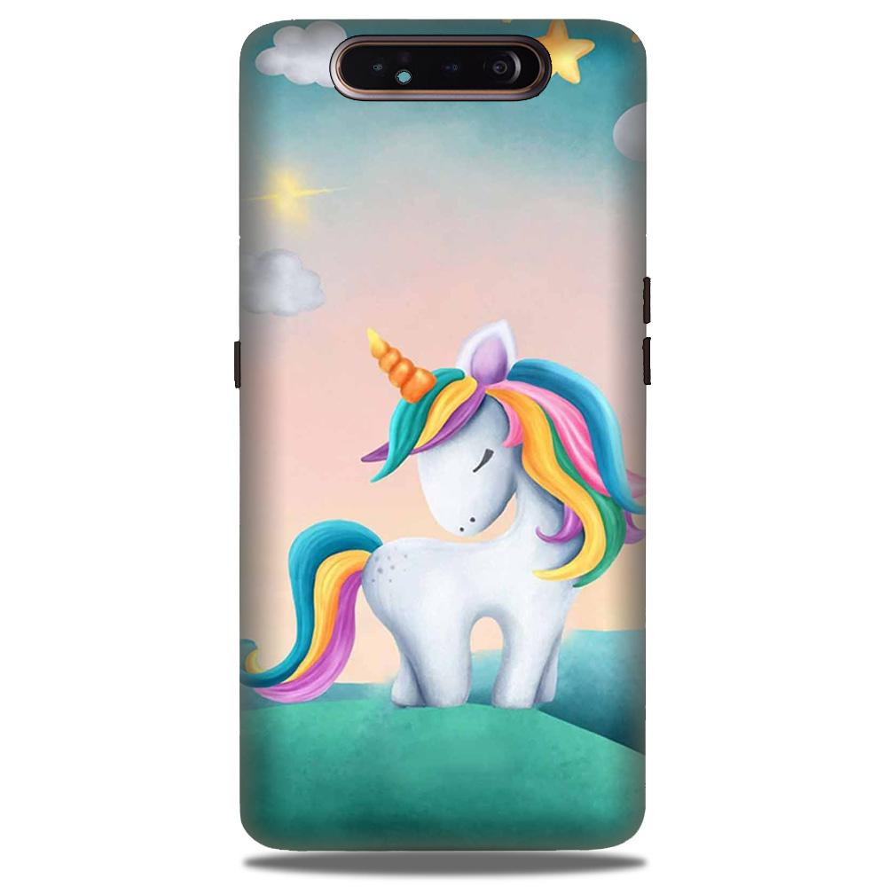 Unicorn Mobile Back Case for Samsung Galaxy A90  (Design - 366)