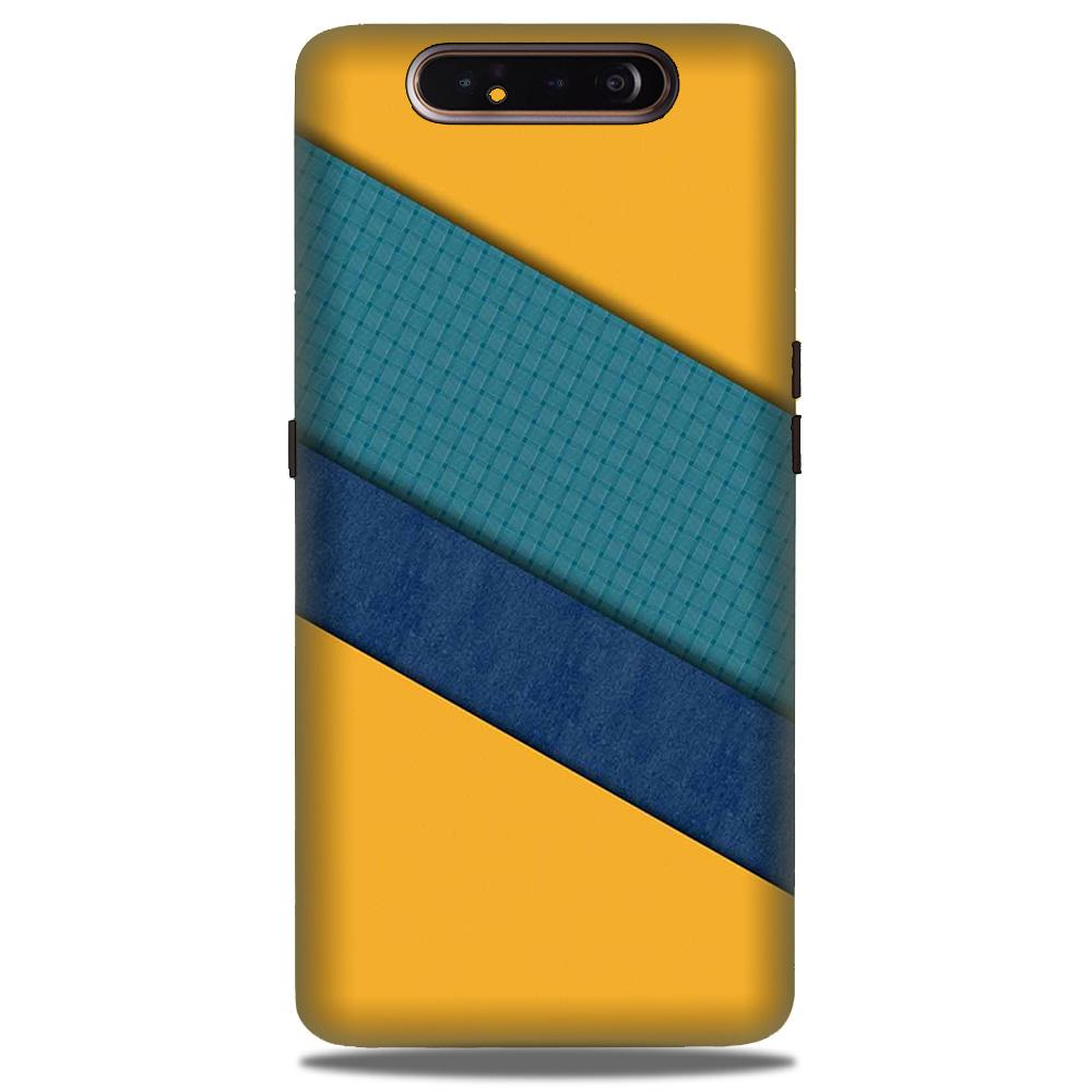 Diagonal Pattern Mobile Back Case for Samsung Galaxy A90  (Design - 370)