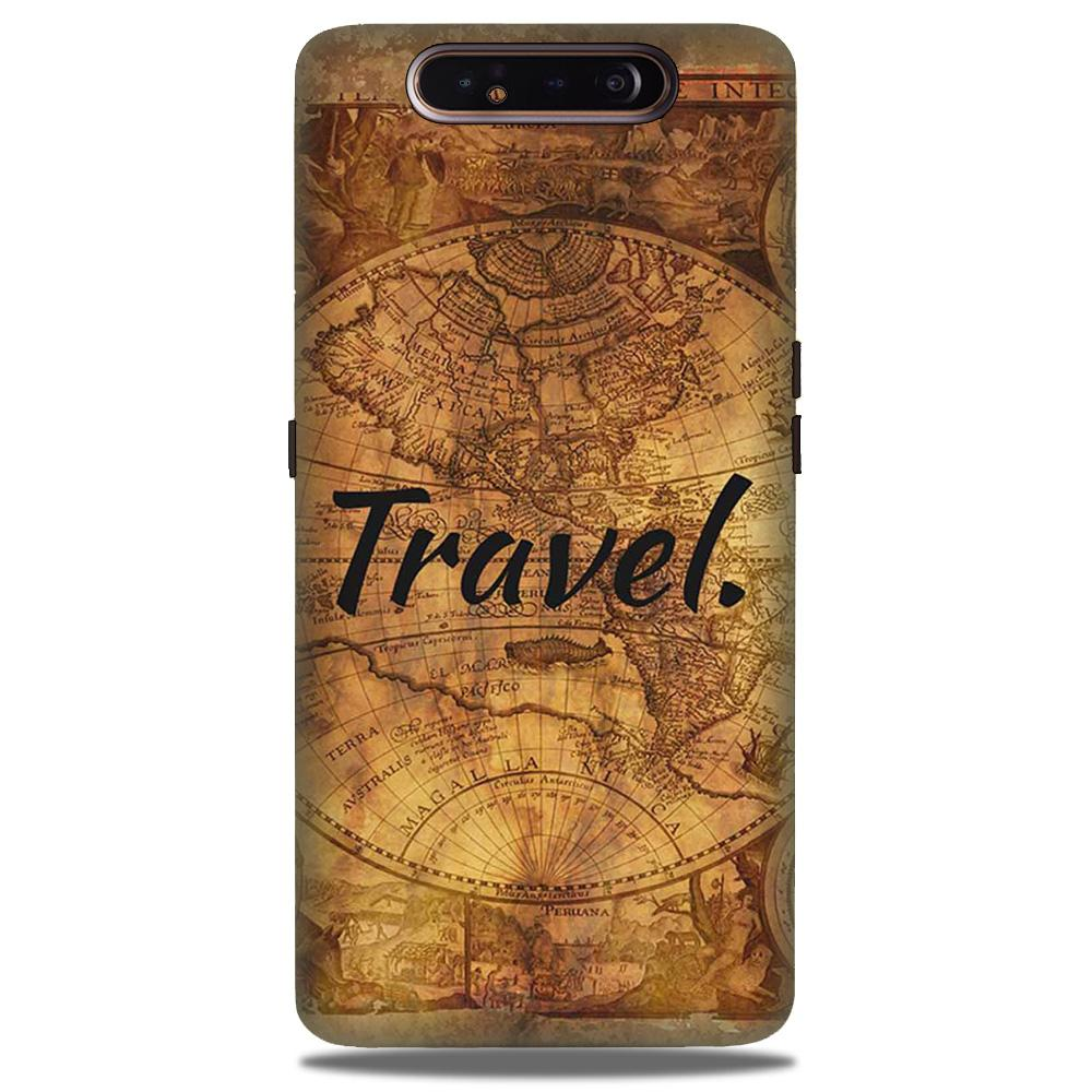 Travel Mobile Back Case for Samsung Galaxy A90  (Design - 375)