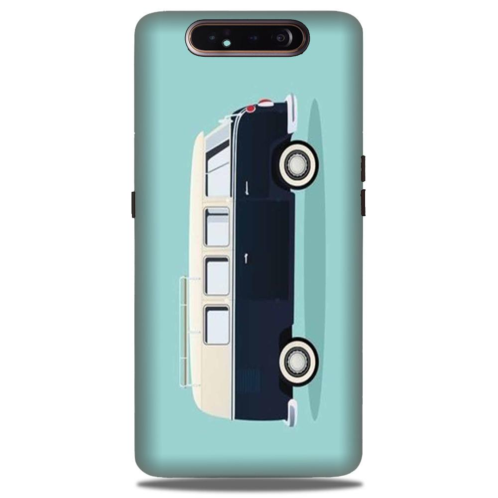 Travel Bus Mobile Back Case for Samsung Galaxy A90  (Design - 379)
