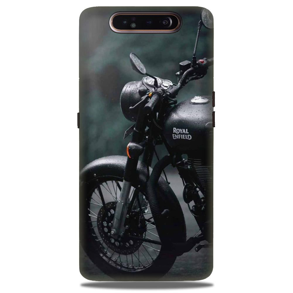 Royal Enfield Mobile Back Case for Samsung Galaxy A90  (Design - 380)