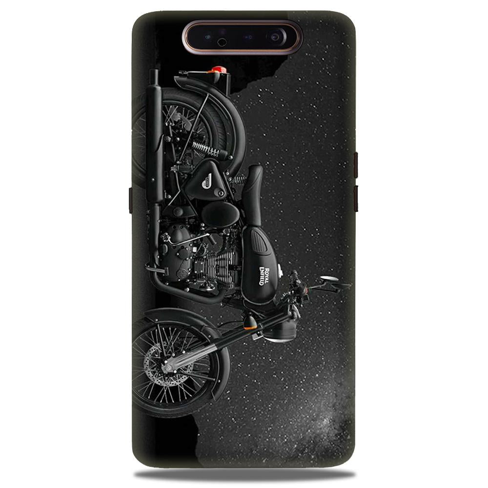 Royal Enfield Mobile Back Case for Samsung Galaxy A90  (Design - 381)