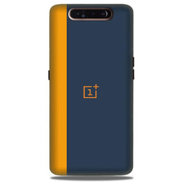 Oneplus Logo Mobile Back Case for Samsung Galaxy A90  (Design - 395)