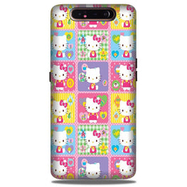 Kitty Mobile Back Case for Samsung Galaxy A90  (Design - 400)