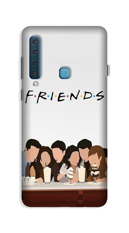 Friends Case for Galaxy A9 (2018) (Design - 200)