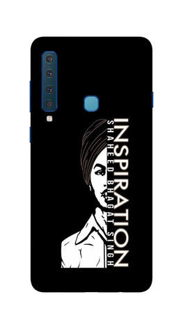 Bhagat Singh Mobile Back Case for Galaxy A9 2018   (Design - 329)