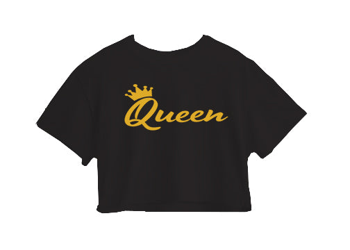 QUEEN CROP TOP