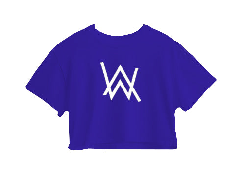 ALAN WALKER CROP TOP