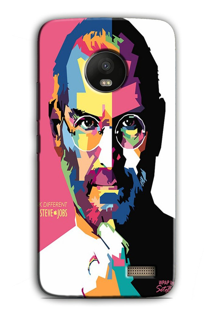 Steve Jobs Case for Moto E4  (Design - 132)