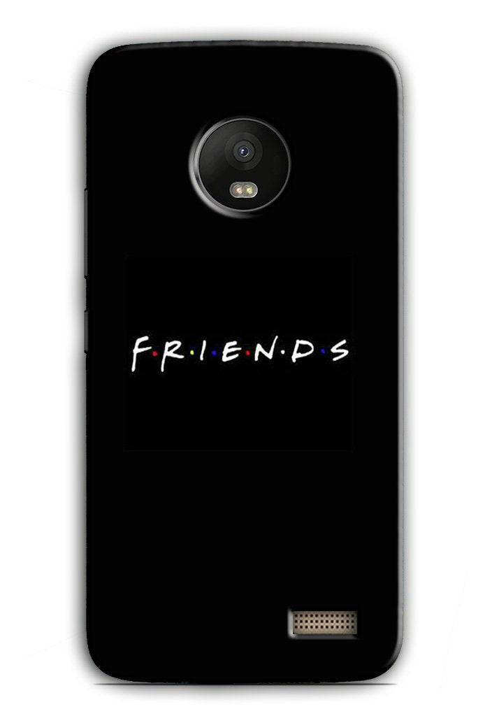 Friends Case for Moto E4  (Design - 143)