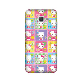 Kitty Mobile Back Case for Galaxy E5  (Design - 400)