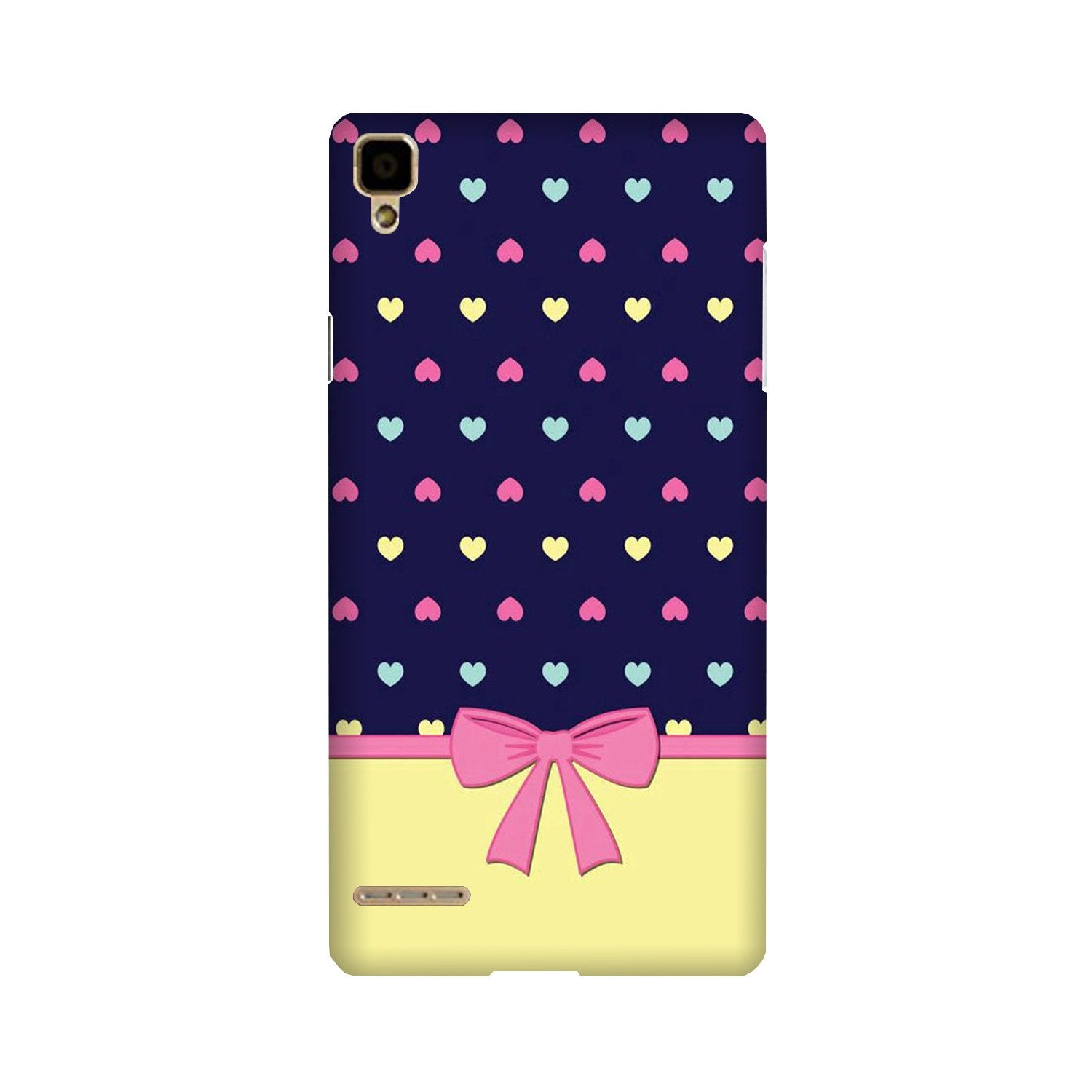 Gift Wrap5 Case for Oppo F1