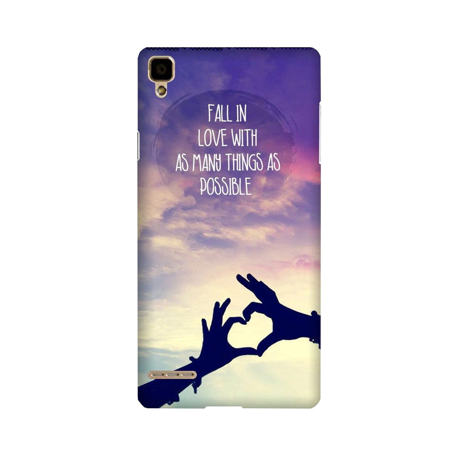 Fall in love Case for Oppo F1