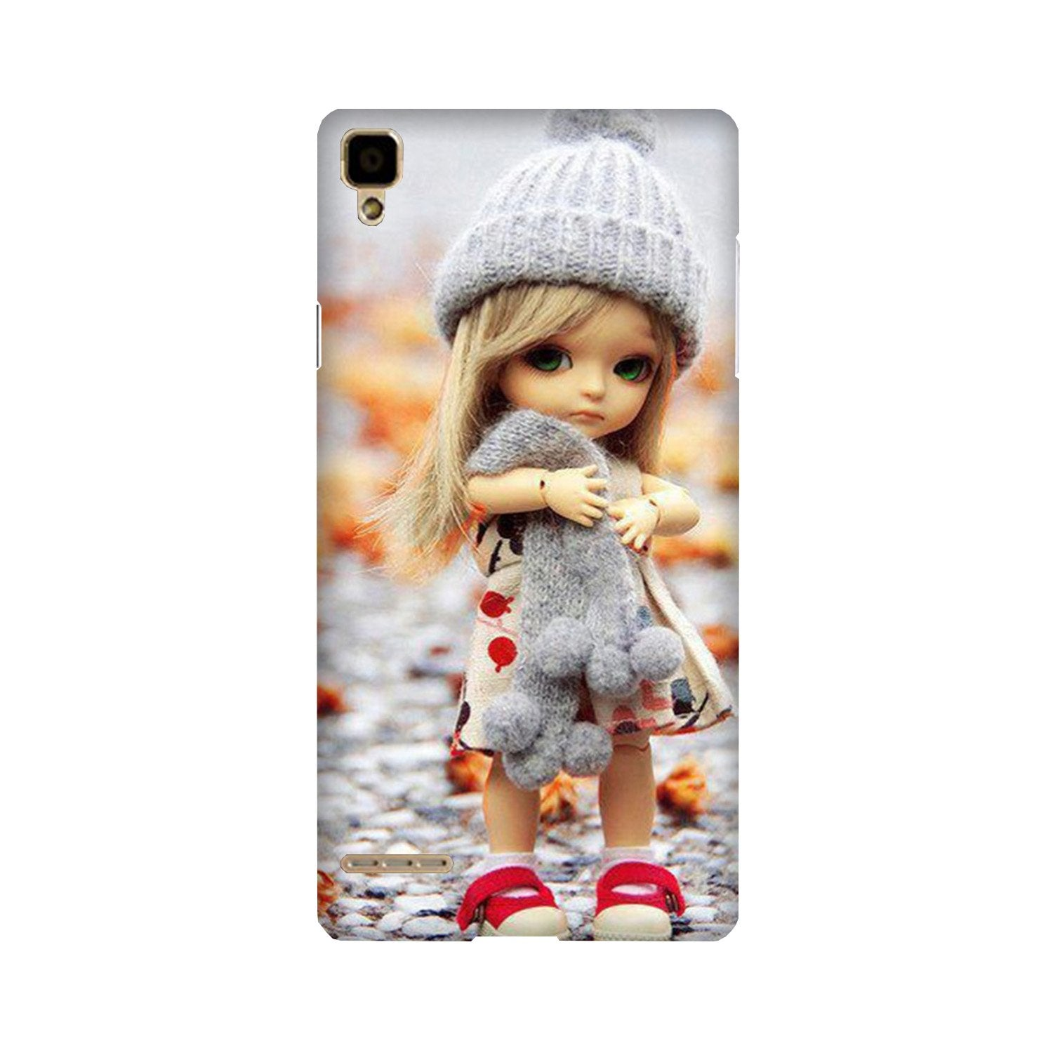 Cute Doll Case for Oppo F1