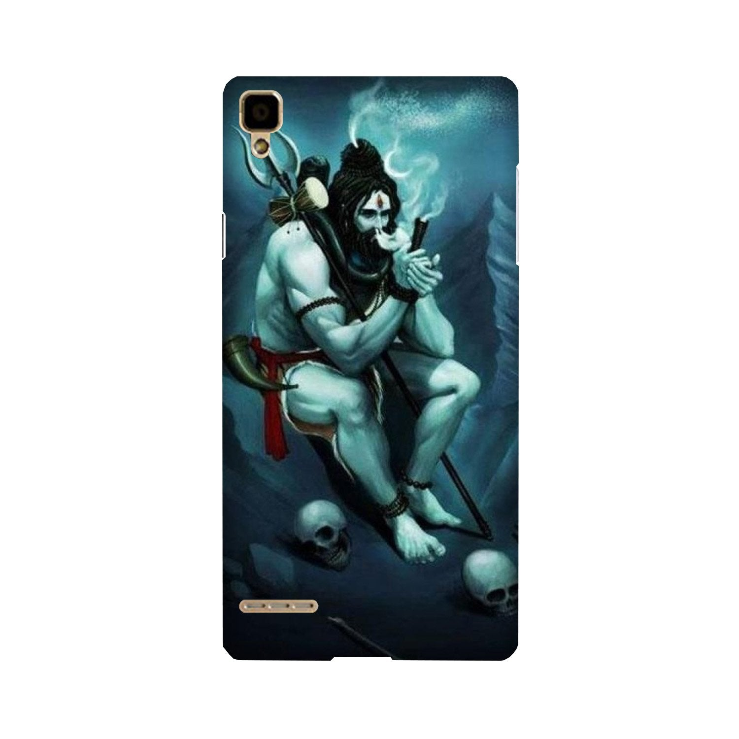 Lord Shiva Mahakal2 Case for Oppo F1