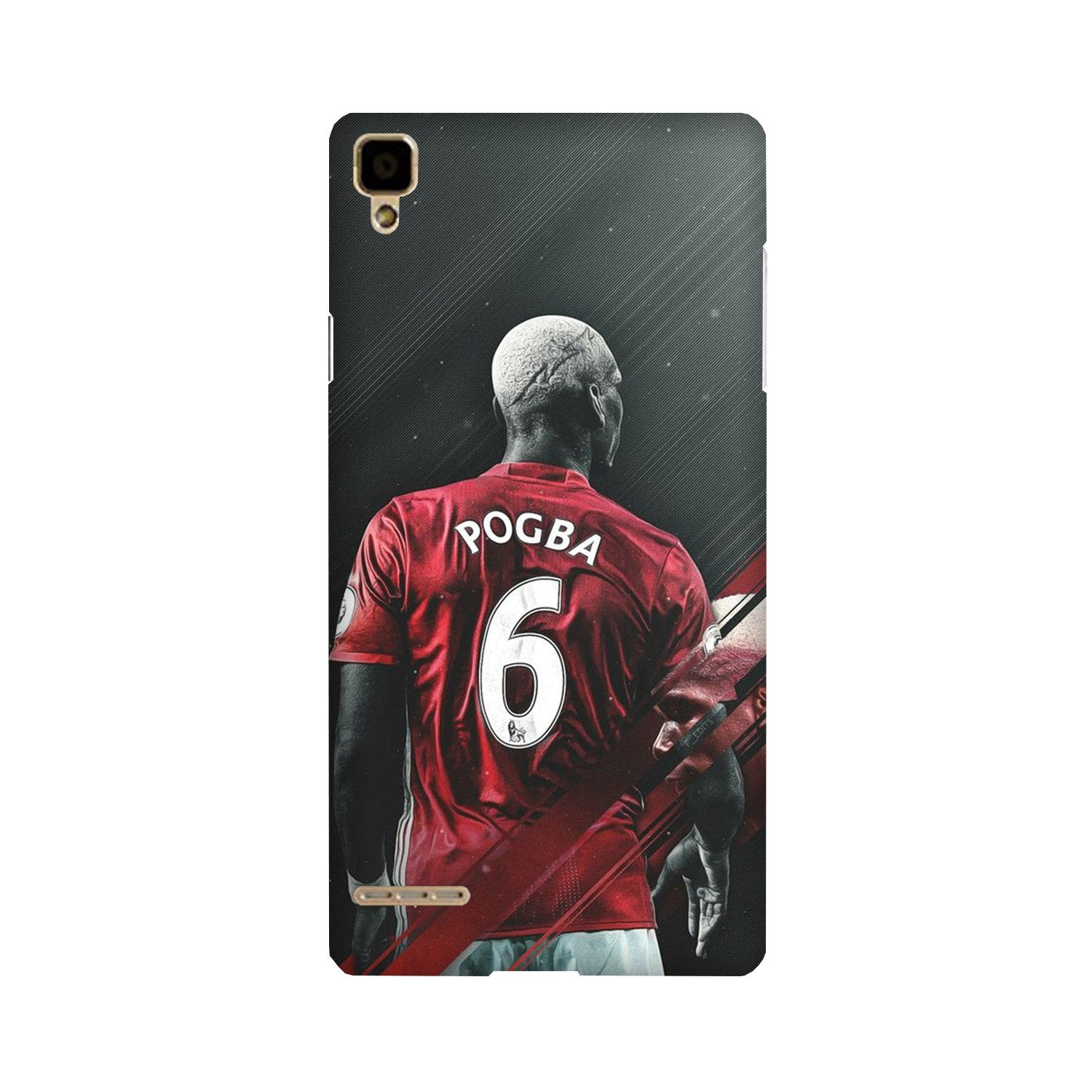 Pogba Case for Oppo F1  (Design - 167)