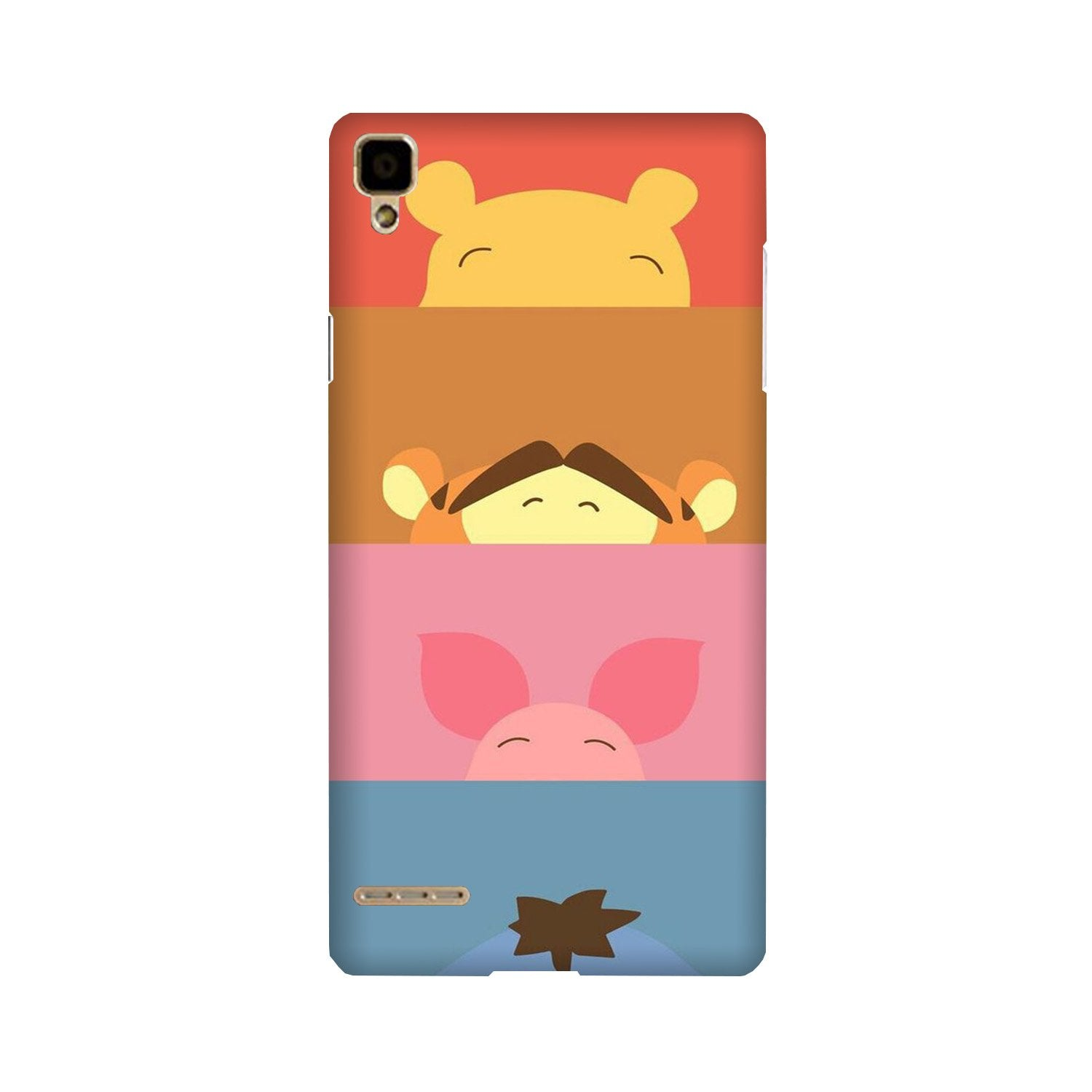 Cartoon Case for Oppo F1 (Design - 183)