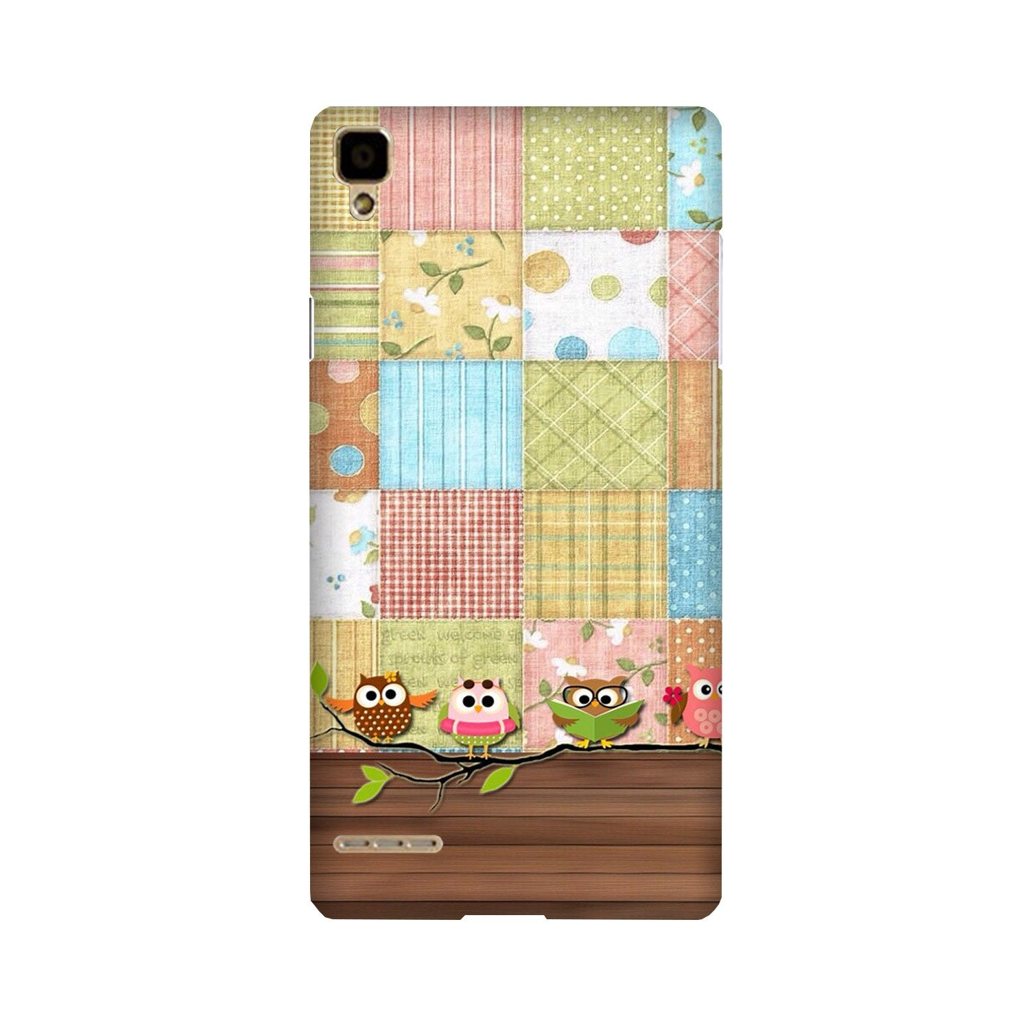 Owls Case for Oppo F1 (Design - 202)