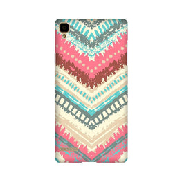 Pattern Mobile Back Case for Oppo F1  (Design - 368)