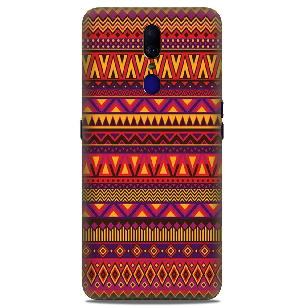 Zigzag line pattern2 Case for Oppo A9