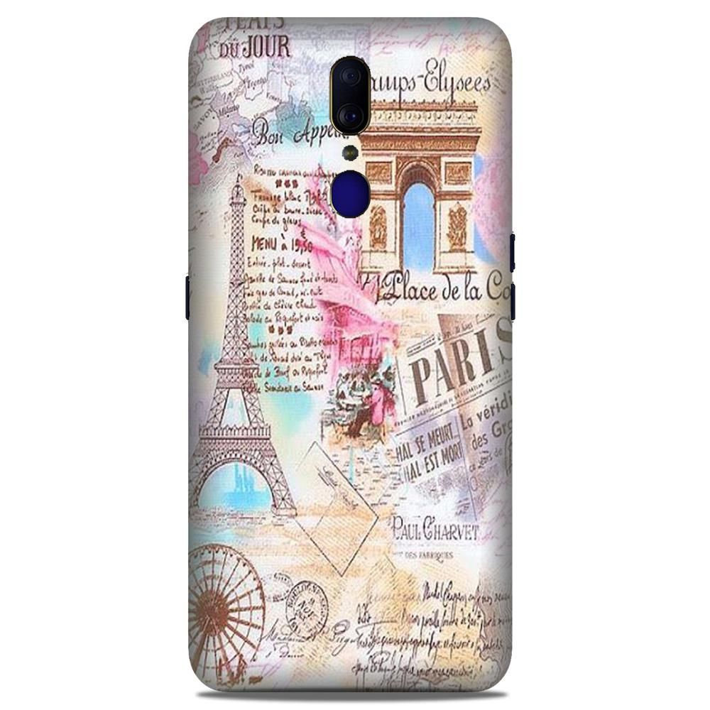 Paris Eiftel Tower Case for Oppo A9