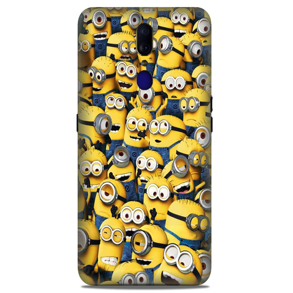 Minions Case for Oppo A9  (Design - 126)