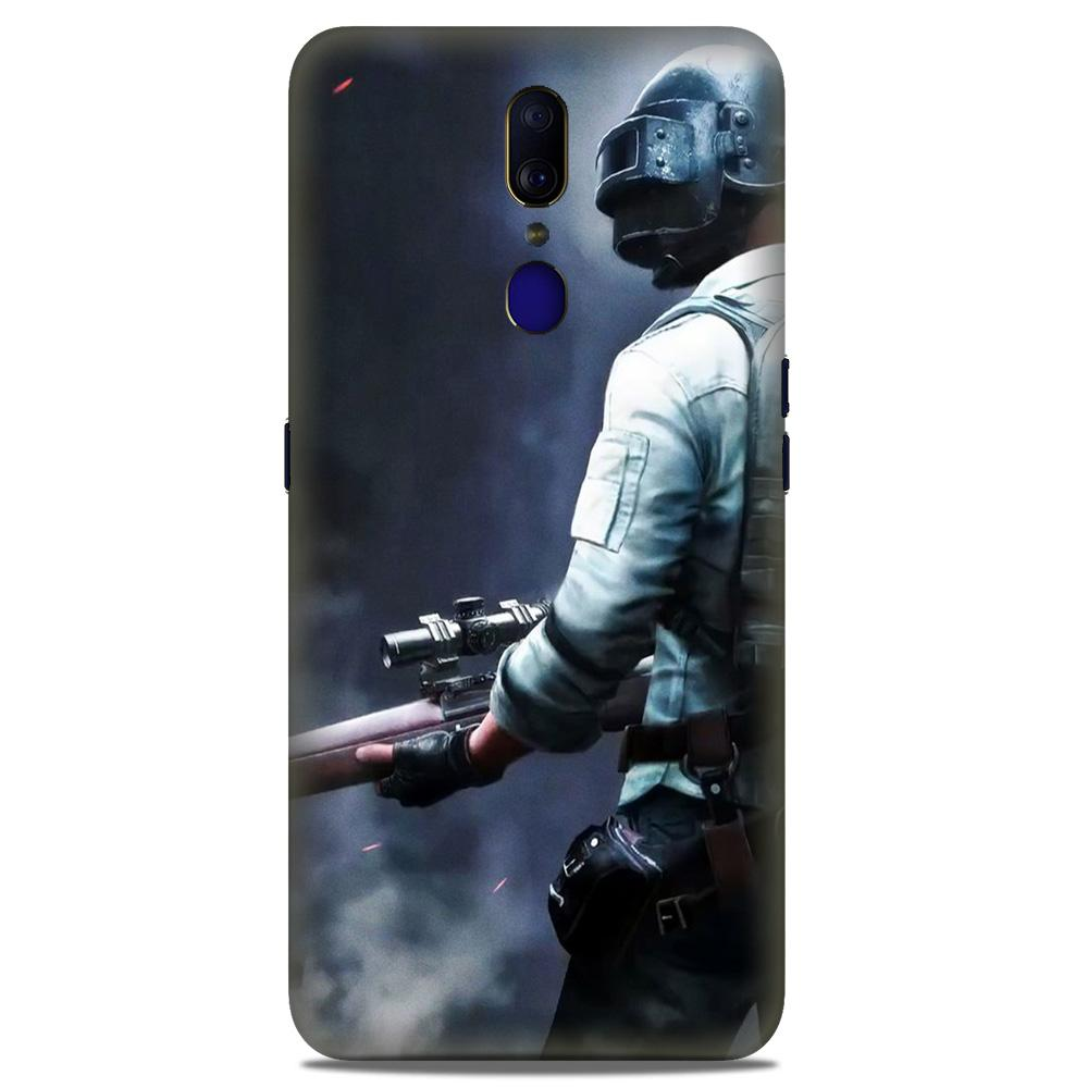 Pubg Case for Oppo A9  (Design - 179)