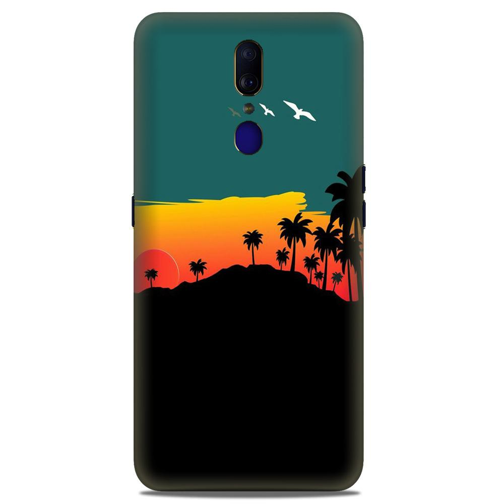 Sky Trees Case for Oppo A9 (Design - 191)