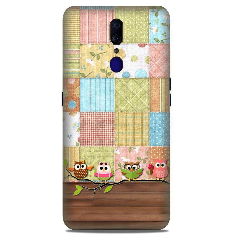 Owls Case for Oppo A9 (Design - 202)