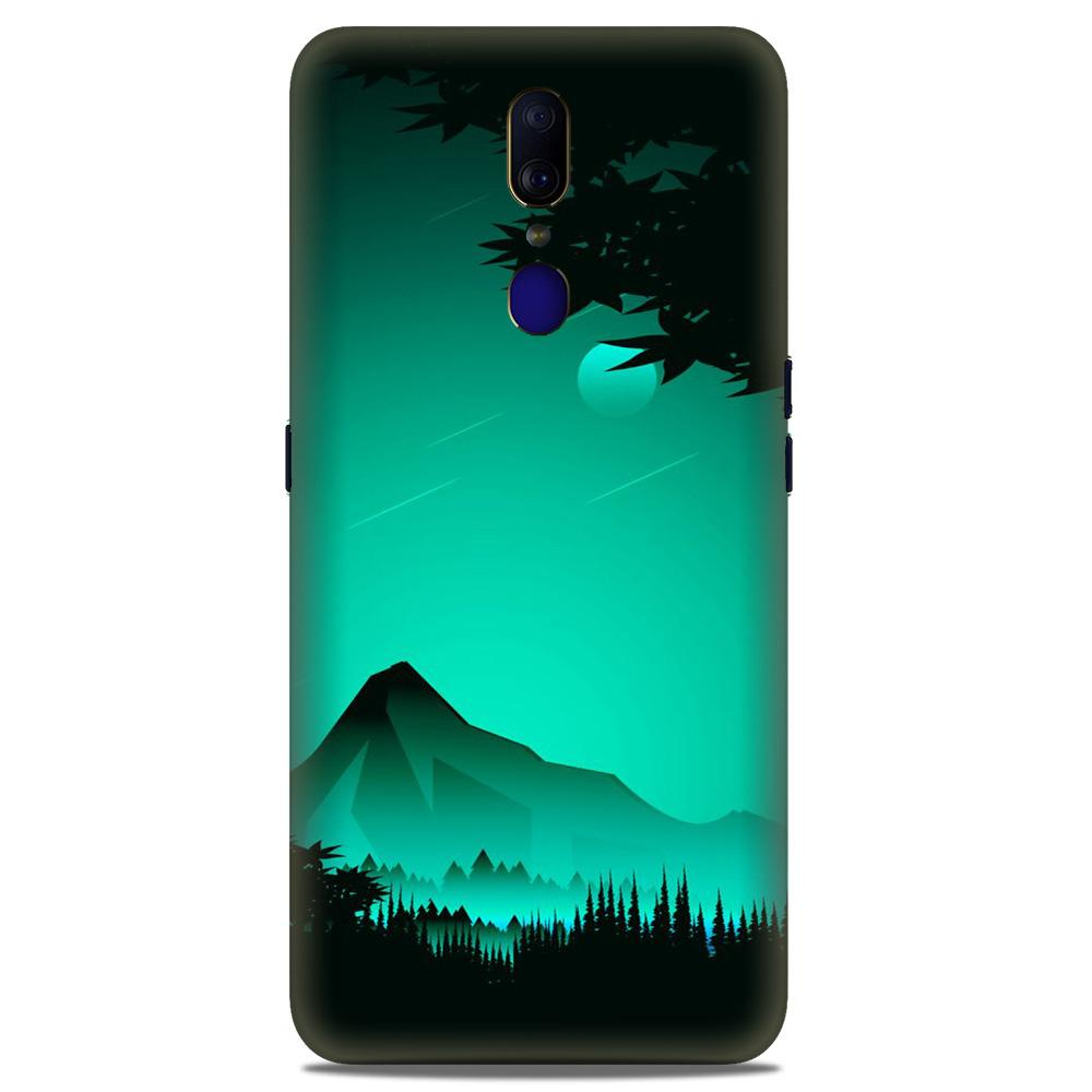 Moon Mountain Case for Oppo A9 (Design - 204)