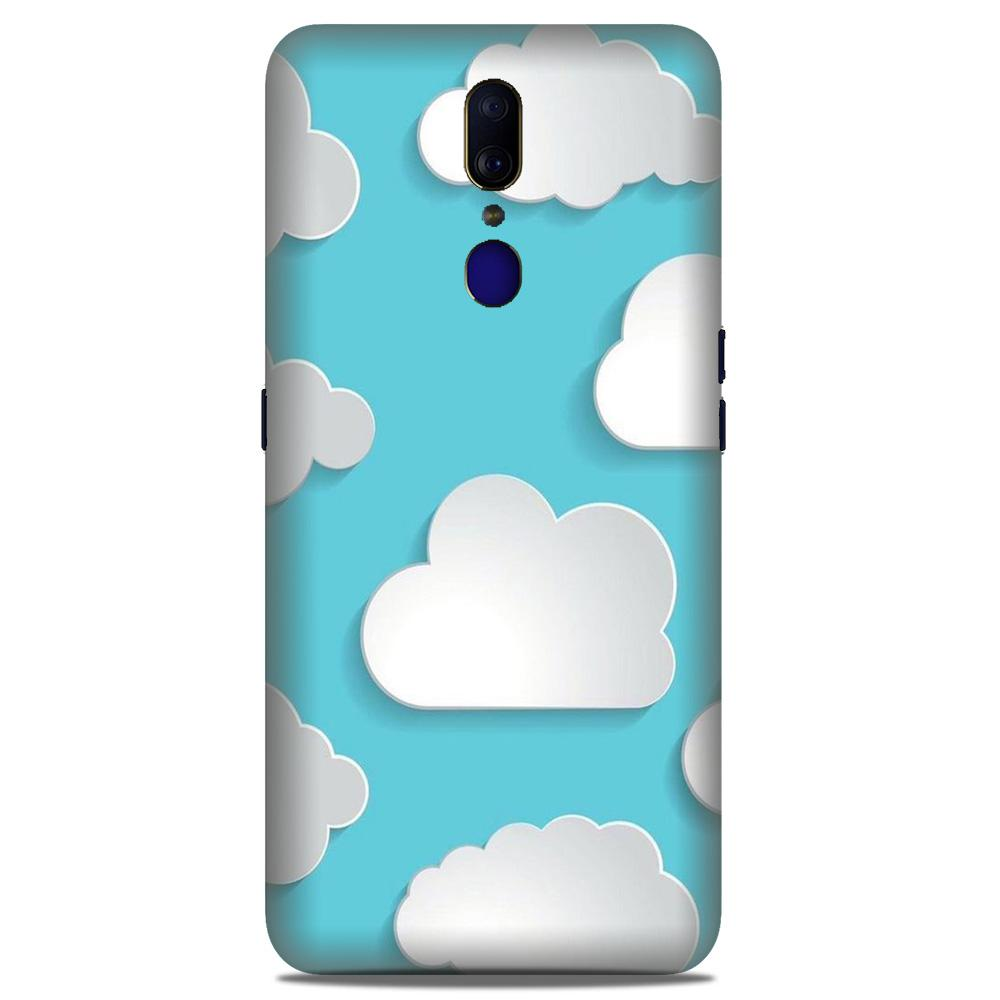 Clouds Case for Oppo F11  (Design No. 210)