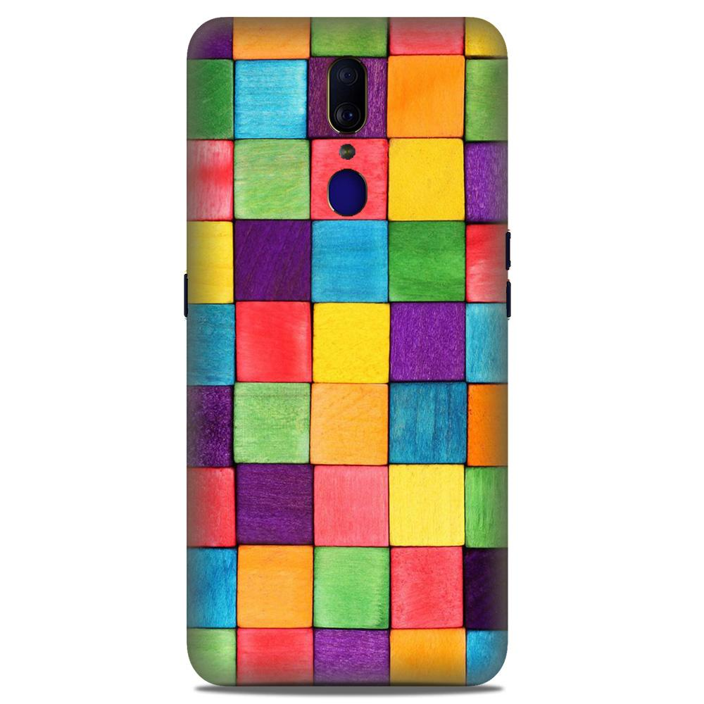 Colorful Square Case for Oppo A9 (Design No. 218)