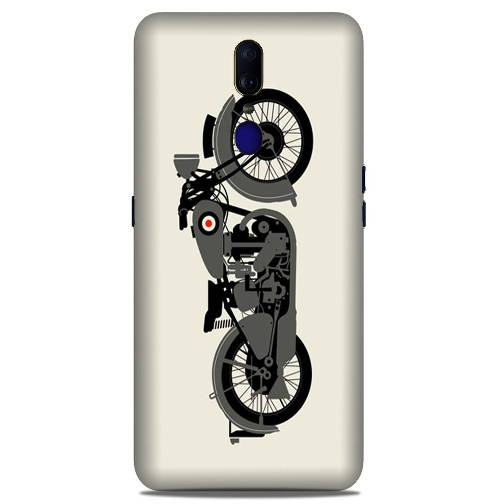 MotorCycle Case for Oppo A9 (Design No. 259)