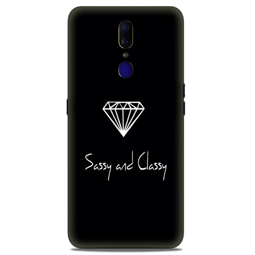 Sassy and Classy Case for Oppo A9 (Design No. 264)