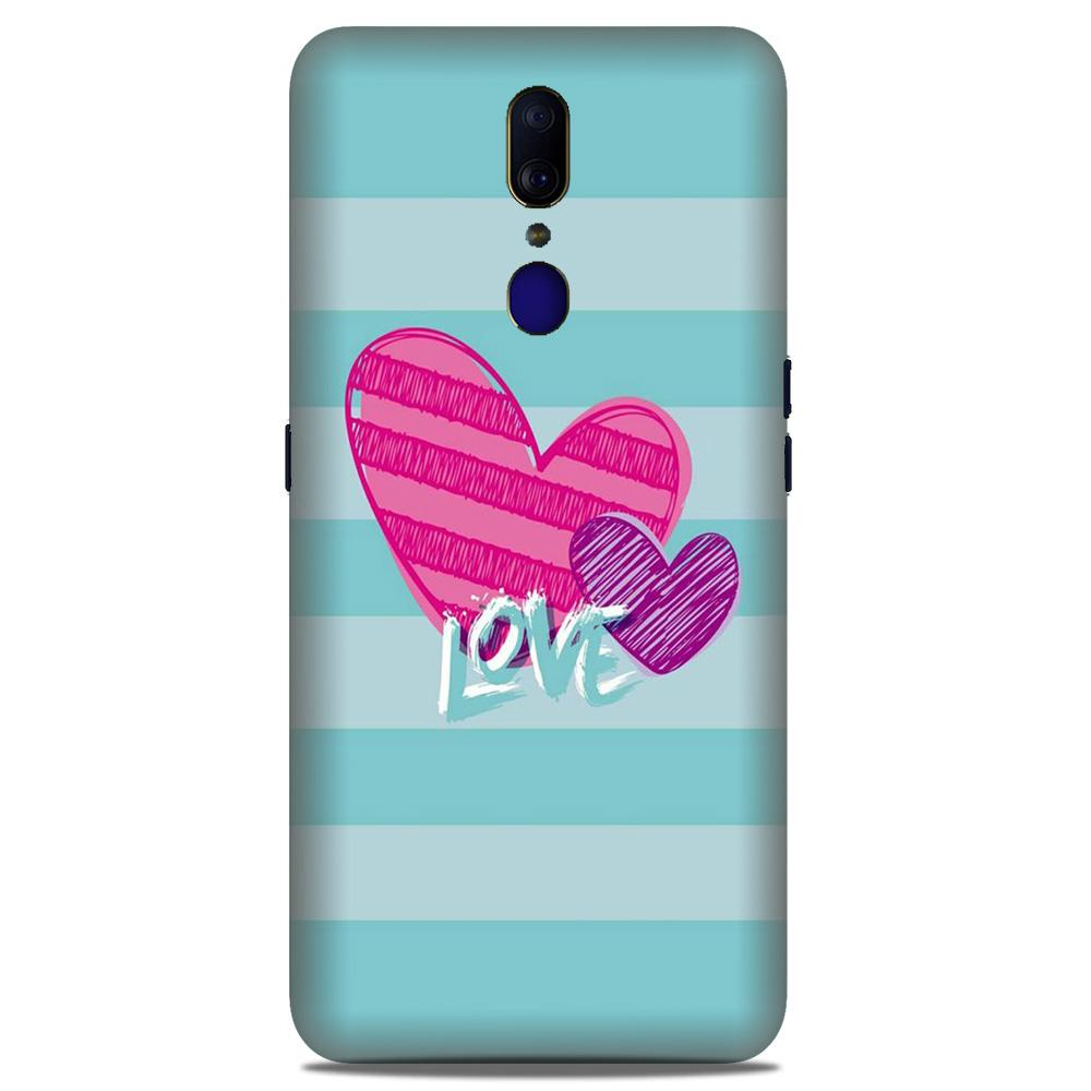 Love Case for Oppo A9 (Design No. 299)