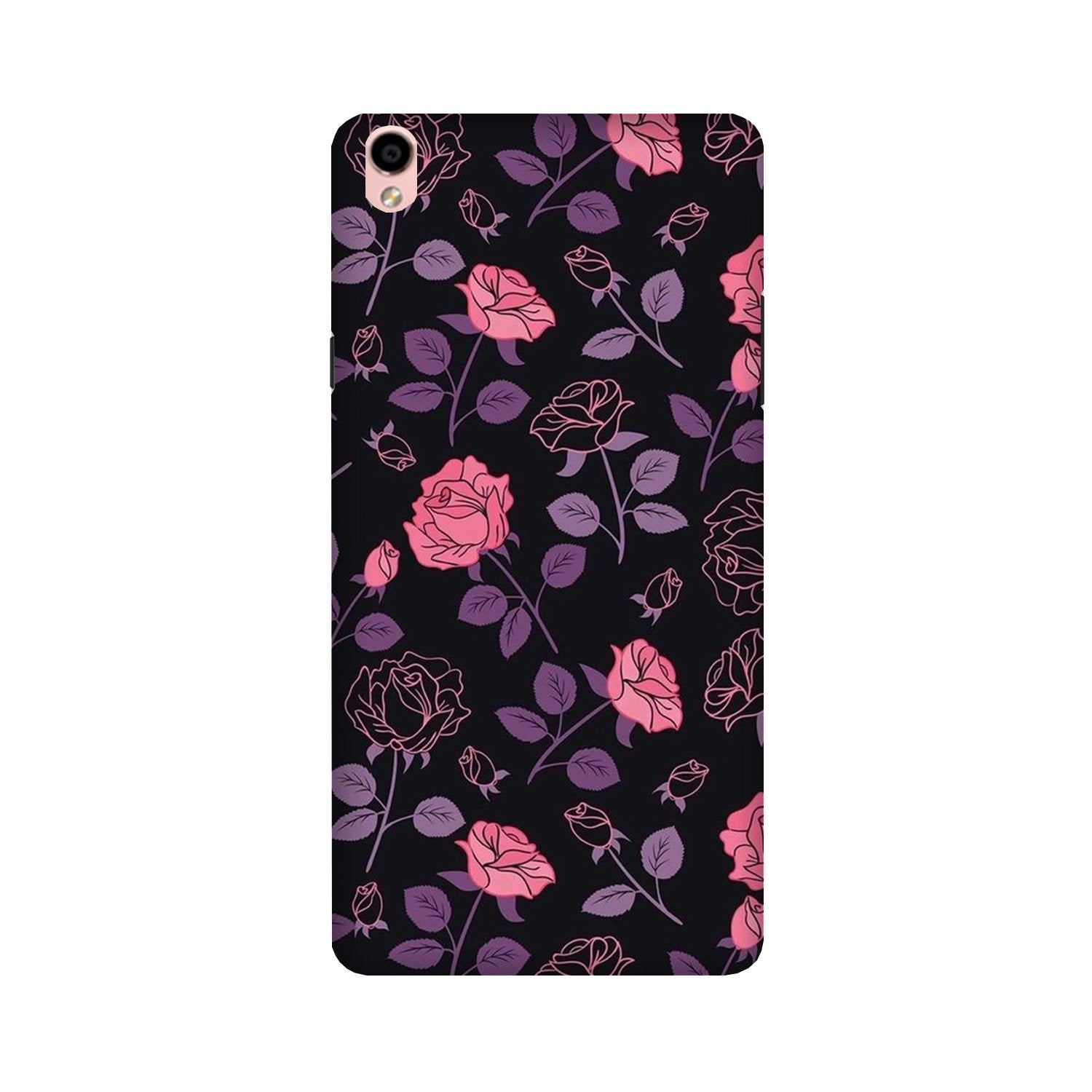 Rose Pattern Case for Oppo F1 Plus