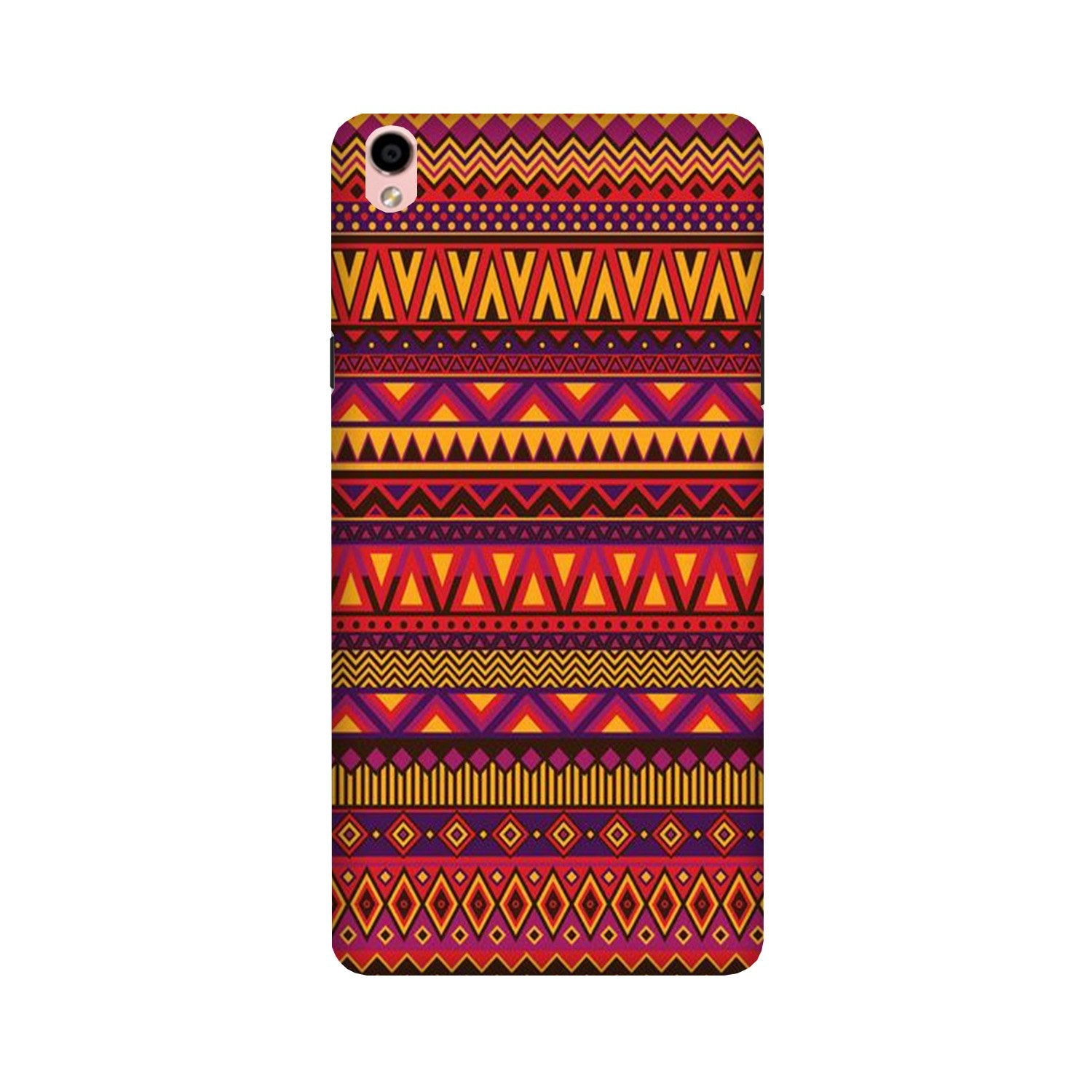 Zigzag line pattern2 Case for Oppo F1 Plus