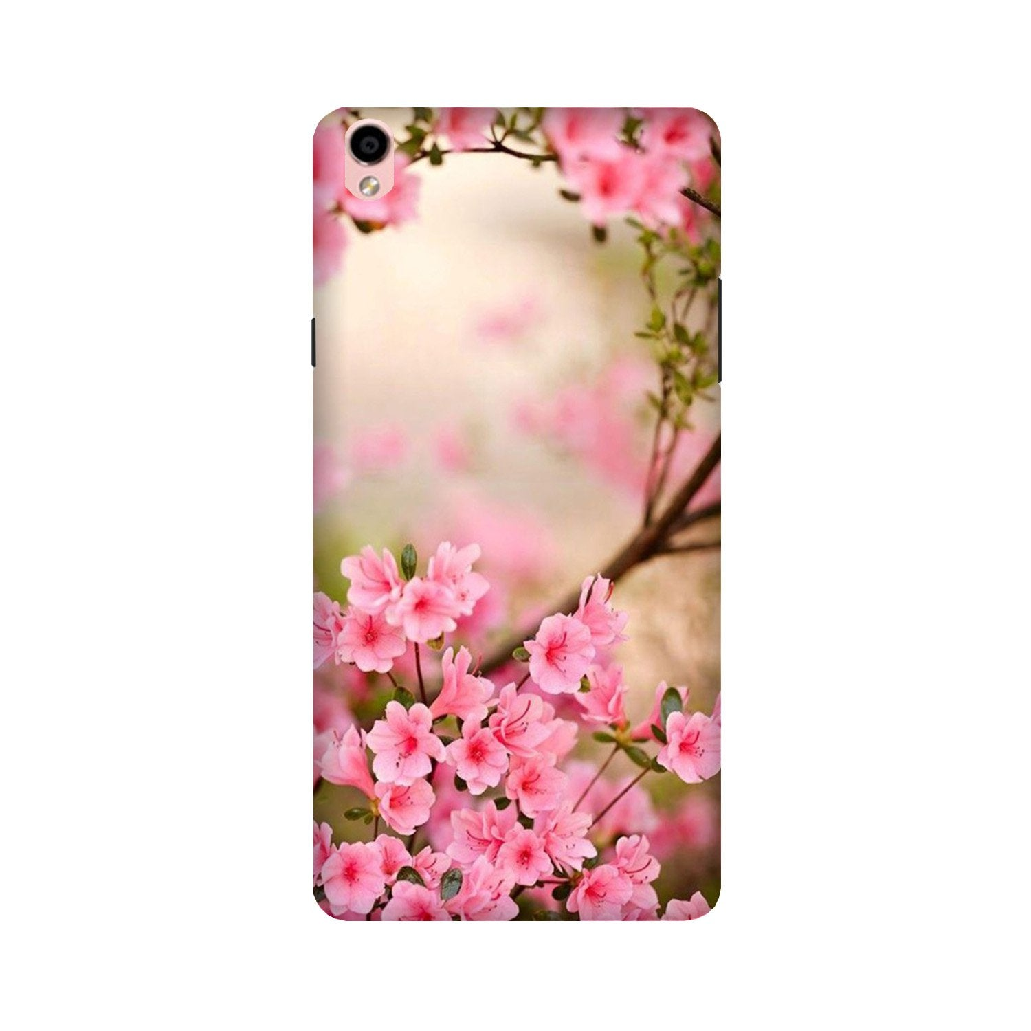 Pink flowers Case for Oppo F1 Plus