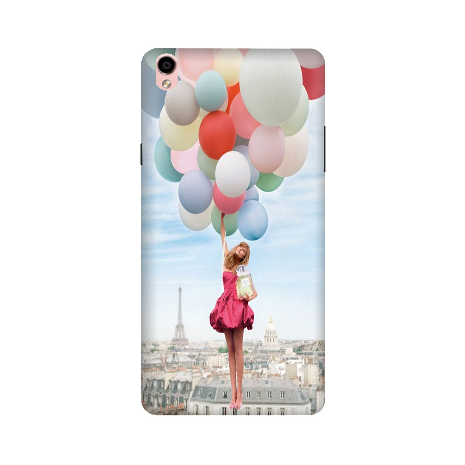 Girl with Baloon Case for Oppo F1 Plus