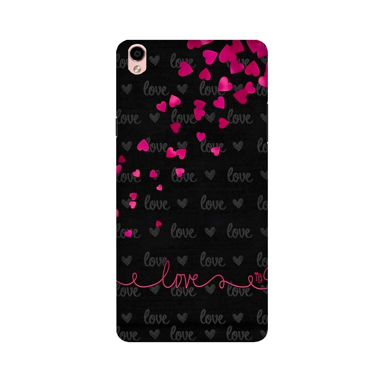 Love in Air Case for Oppo F1 Plus