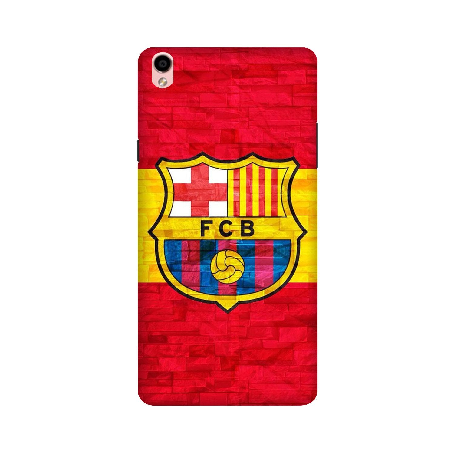 FCB Football Case for Oppo F1 Plus  (Design - 174)