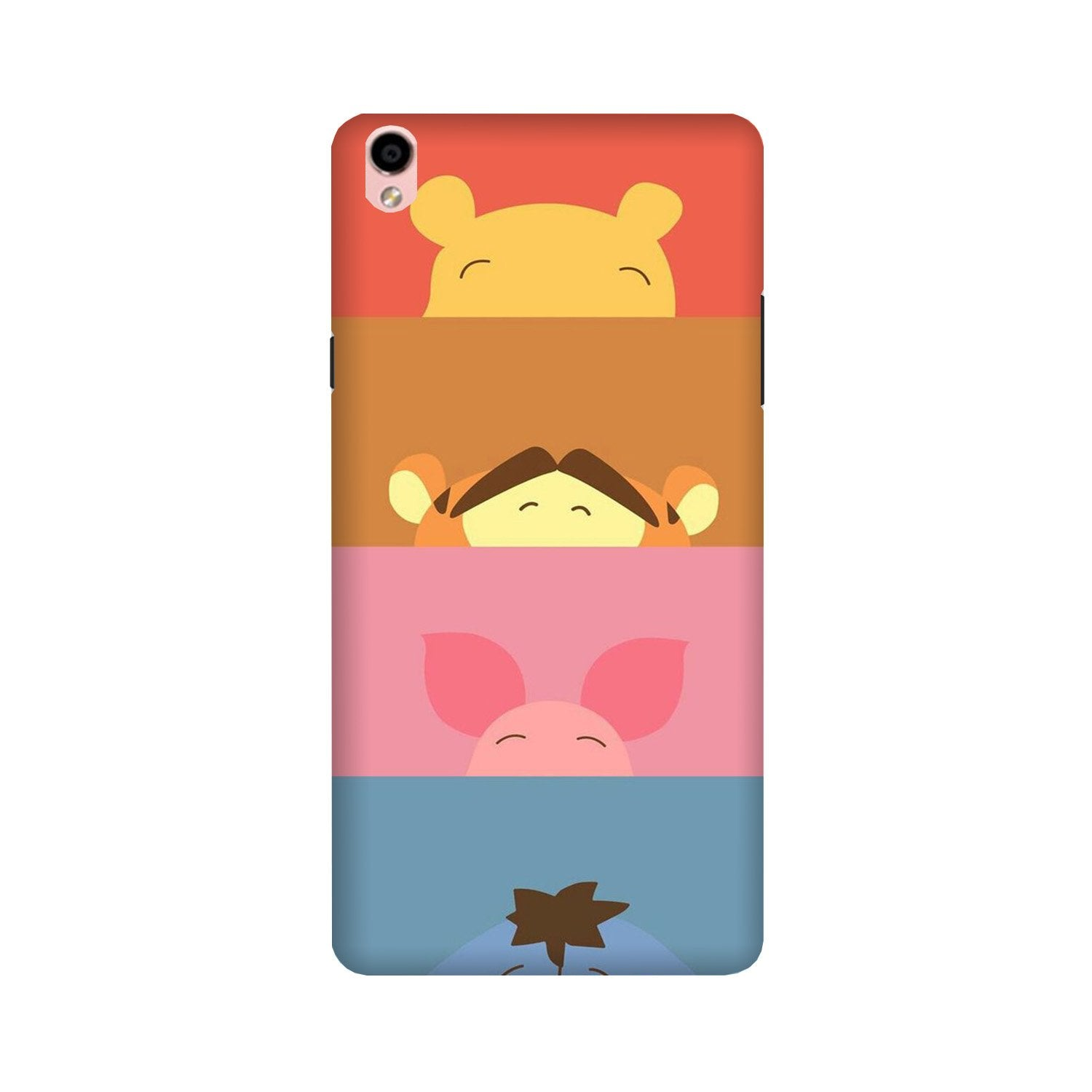 Cartoon Case for Oppo F1 Plus (Design - 183)