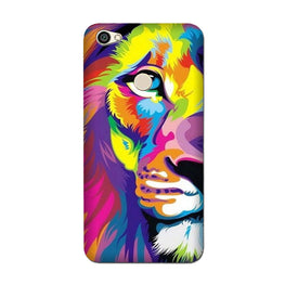 Colorful Lion Case for Oppo F7  (Design - 110)